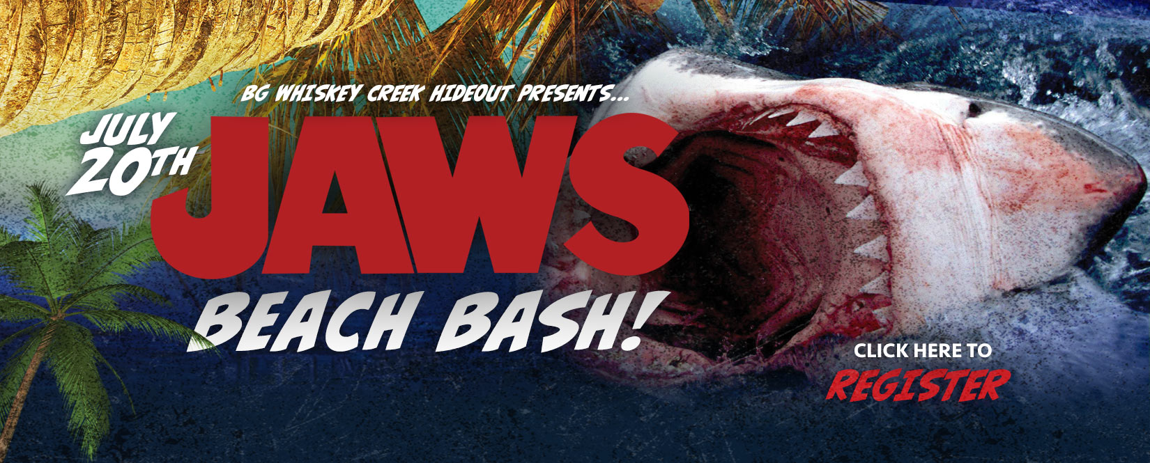 jaws on the beach, movies in the park