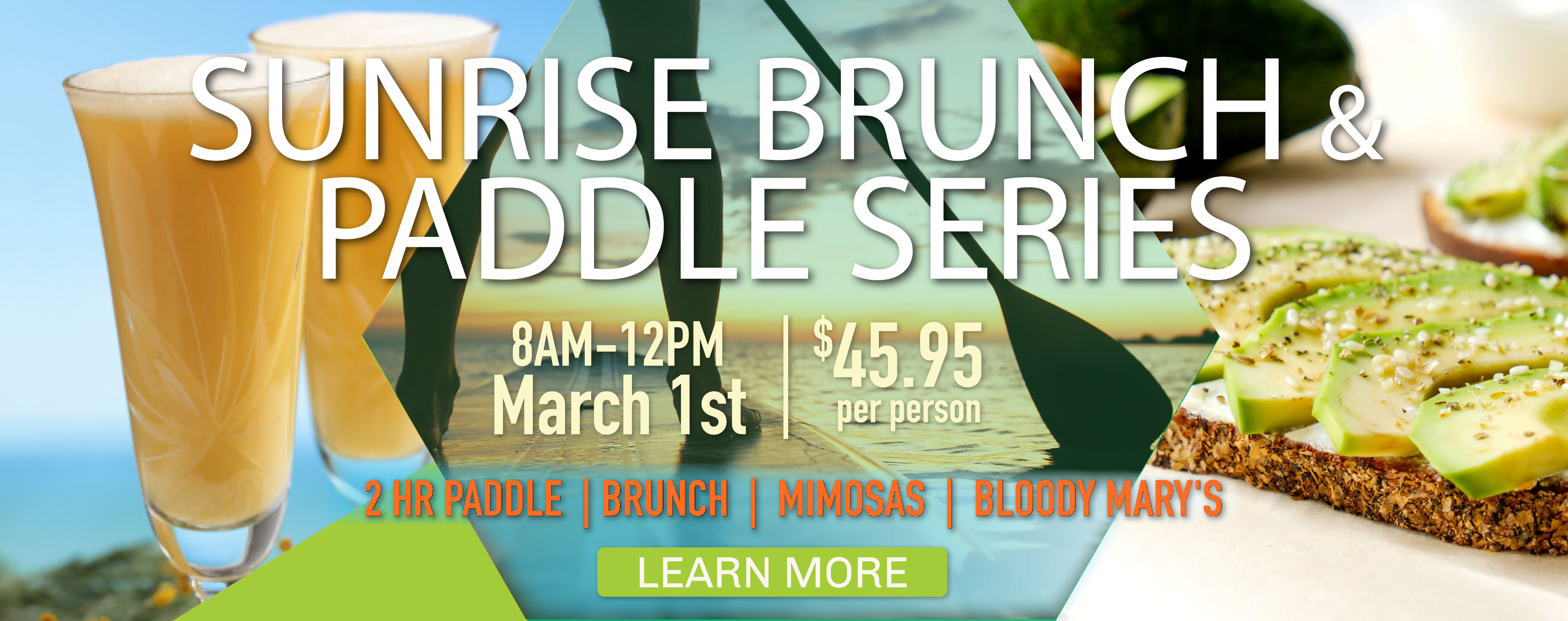 Whiskey Creek Brunch and Paddle Series